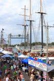 Festival de jours de canal Photographie stock