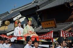 Festival de Kawagoe em outubro de 2014 Imagem de Stock