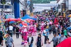 Festival de khon de ta de phi Photographie stock