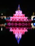 Festival de kratong de Loy photographie stock libre de droits