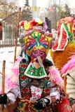 Festival de Kukeri Foto de archivo