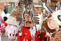 Festival de Kukeri Foto de archivo libre de regalías