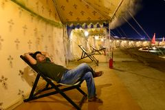 Festival de Kutch du Goudjerate photographie stock libre de droits