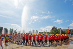 Festival de l'eau du ` s de la Chine Photo stock