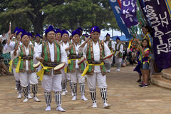 Festival de l'Okinawa Photos libres de droits