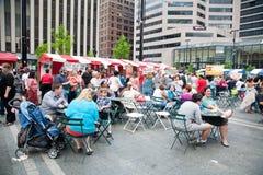 Festival de la calle: Cinco de Mayo fotografía de archivo