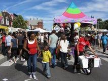 Festival de la calle de H en la C.C. de Washington Imagen de archivo