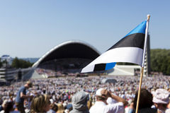 Festival 2014 de la canción de Laulupidu Imágenes de archivo libres de regalías
