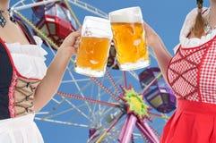 Festival de la cerveza de Munich imágenes de archivo libres de regalías