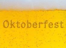 Festival de la cerveza de Oktoberfest Ilustración de color Imagen de archivo libre de regalías