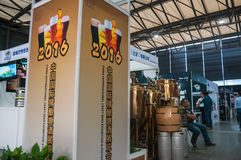 Festival de la cerveza del arte en Shangai Imagen de archivo