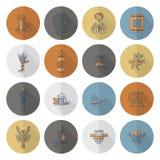Festival de la cerveza de Oktoberfest Ilustración de color Fotografía de archivo libre de regalías