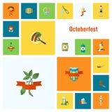 Festival de la cerveza de Oktoberfest Ilustración de color Fotos de archivo libres de regalías