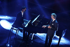Festival de la chanson italienne, Sanremo 2013 Photo libre de droits