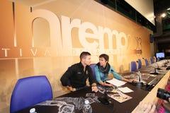 Festival de la chanson italienne, Sanremo 2013 Photographie stock