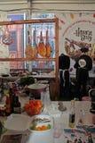 Festival de la comida de la calle en Kiev, Ucrania Fotografía de archivo