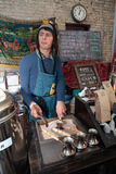 Festival de la comida de la calle en Kiev, Ucrania Fotos de archivo