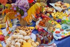Festival de la cosecha del otoño Foto de archivo libre de regalías