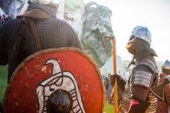 Festival de la cultura medieval Imagen de archivo libre de regalías