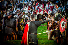 Festival de la cultura medieval Imagenes de archivo