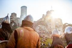 Festival de la cultura medieval Foto de archivo libre de regalías