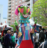 Festival de la familia de Tribeca Imágenes de archivo libres de regalías