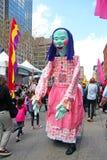 Festival de la familia de Tribeca Imagen de archivo libre de regalías