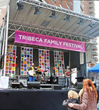 Festival de la familia de Tribeca Imagenes de archivo