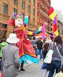 Festival de la familia de Tribeca Fotos de archivo libres de regalías