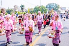 Festival de la flor Fotografía de archivo