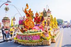 Festival de la flor Fotos de archivo