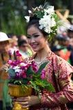 Festival de la flor de Tailandia Chiang Mai Fotos de archivo libres de regalías