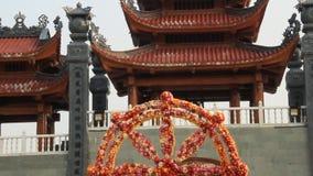 Festival de la flor en Asia almacen de metraje de vídeo