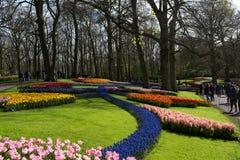 Festival de la flor en Keukenhof en la primavera en marzo de 2017 Foto de archivo