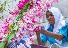 Festival de la flor y de la palma en Panchimalco, El Salvador Imagen de archivo