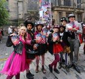 Festival 2016 de la franja de Edimburgo Fotografía de archivo libre de regalías