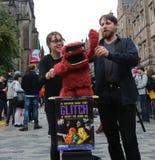 Festival 2016 de la franja de Edimburgo Fotos de archivo libres de regalías
