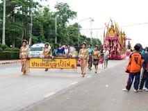 Festival de la hoguera Foto de archivo