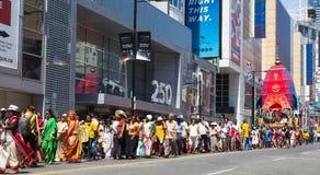 Festival de la India Toronto fotos de archivo libres de regalías