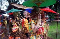 Festival de la lluvia imagen de archivo