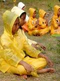 Festival de la lluvia foto de archivo libre de regalías
