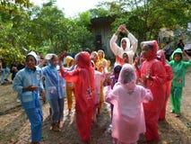 Festival de la lluvia fotos de archivo