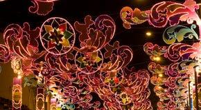 Festival de la luz Foto de archivo libre de regalías