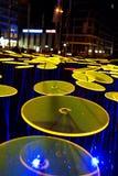 Festival de la luz, Berlín, Alemania - Ernst Reuter Platz Foto de archivo libre de regalías