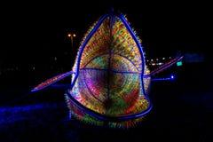 Festival de la luz, Berlín, Alemania - Ernst Reuter Platz Foto de archivo