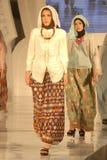 Festival 2014 de la moda de los musulmanes Imágenes de archivo libres de regalías