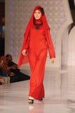 Festival 2014 de la moda de los musulmanes Imagenes de archivo