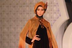 Festival 2014 de la moda de los musulmanes Fotografía de archivo