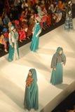Festival 2014 de la moda de los musulmanes Foto de archivo