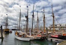 Festival de la navegación en el puerto Fotos de archivo libres de regalías